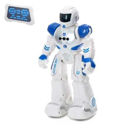 Робот Р/У Смарт бот, ходит, световые и звуковые эффекты, русская озвучка, цвет синий