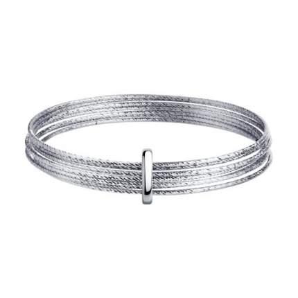 Браслет женский жёсткий SOKOLOV из серебра с алмазной гранью 94050128 р.20