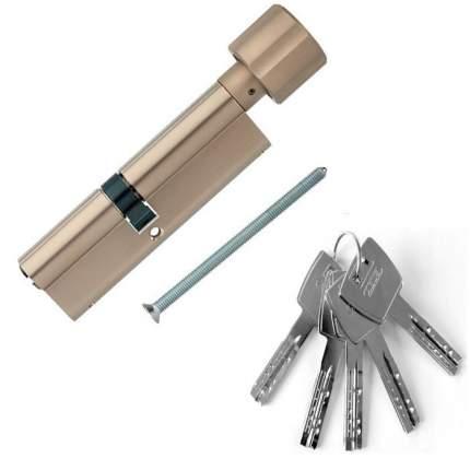 Европрофильный цилиндр ABUS X12R430 ключ/вертушка 45-55 (100 мм) NI (5 key)