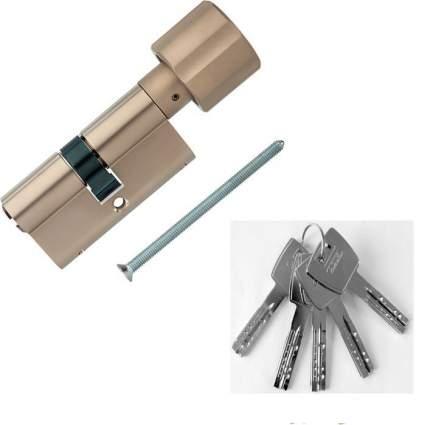 Европрофильный цилиндр ABUS X12R430 ключ/вертушка 30-30 (60 мм) NI (5 key)