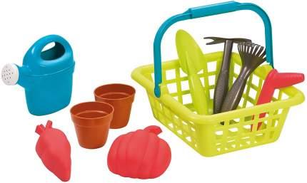 Детская садовая корзина Ecoiffier с аксессуарами