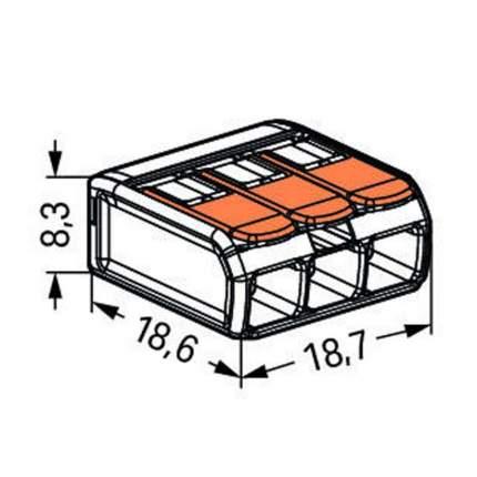 Клеммная шина WAGO 221-413