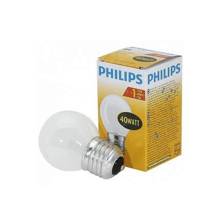 Лампа накаливания PHILIPS A55 40W E27 FR