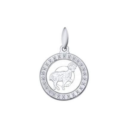 Подвеска «Знак зодиака Овен» SOKOLOV из серебра 94031383