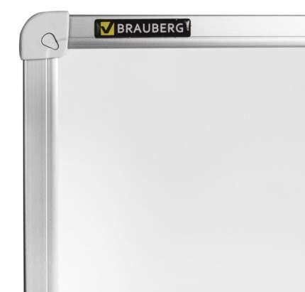 Доска магнитно-маркерная (80х100 см), алюминиевая рамка, ГАРАНТИЯ 10 ЛЕТ, РОССИЯ, BRAUBERG