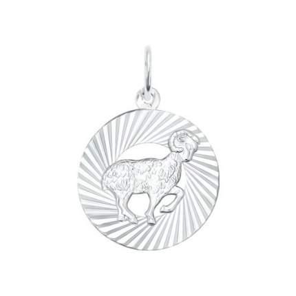 Подвеска «Знак зодиака Овен» SOKOLOV из серебра 94030882
