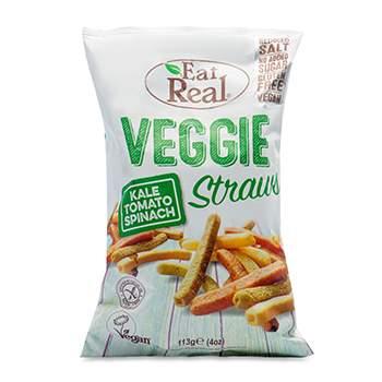 Снеки овощные Eat Real с капустой Кейл, томатом и шпинатом  80/113 г Великобритания
