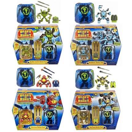 Игрушка MGA Entertainment Ready2Robot Две капсулы и оружие, в ассортименте