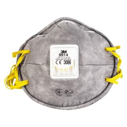 Фильтрующая полумаска 3M 9914 с клапаном выдоха, 10 шт