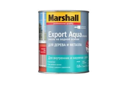 Эмаль MARSHALL Export Aqua темно-коричневая 0,8 л