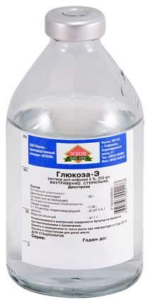 Глюкоза раствор для инфузий 5% 400 мл Эском