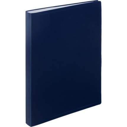 """Папка файловая на 40 файлов """"Attache"""", А4, синяя"""