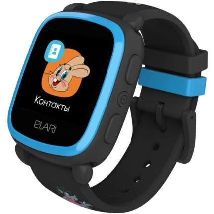 """Детские смарт-часы Elari KidPhone """"Ну, погоди!"""" Black"""