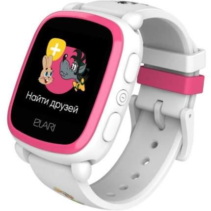 "Детские смарт-часы Elari Kidphone ""Ну, погоди!"" White/White"