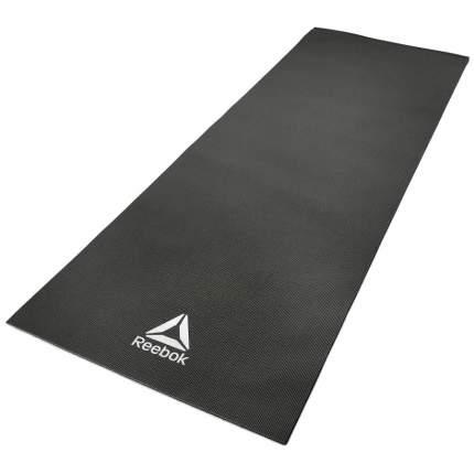 Коврик для йоги и фитнеса Reebok RAYG-11022BK черный 4 мм