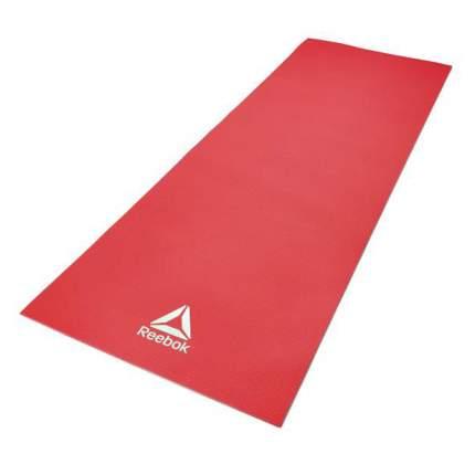 Коврик для йоги и фитнеса Reebok RAYG-11022RD красный 4 мм