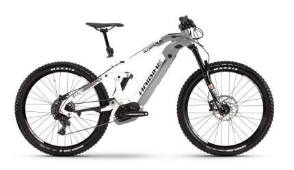 "Электровелосипед Haibike XDURO AllMtn 3.0 (2019) размер рамы 47 см"" Серо-бело-черный"