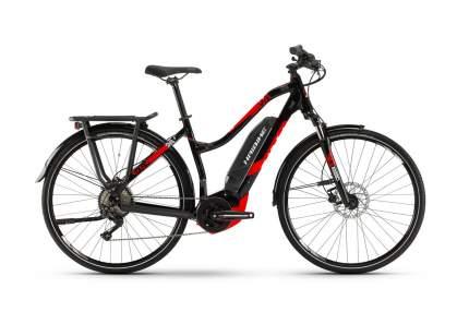 "Электровелосипед Haibike SDURO Trekking 2.0 Women (2019) размер рамы 48 см"" Черно-красный"