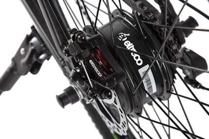 """Электровелосипед Eltreco XT600 (2020) размер рамы 17.5"""" Желто-черный"""