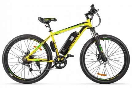"""Электровелосипед Eltreco XT600 2020 17.5"""" yellow/black"""