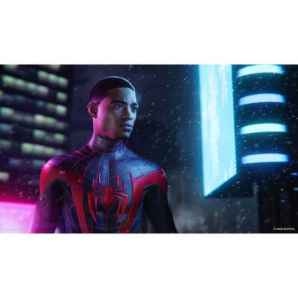 Игра Marvel Человек-Паук: Майлз Моралес для PlayStation 4