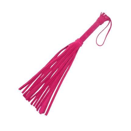 Мини-флоггер Sitabella Королевский велюр 40 см розовый