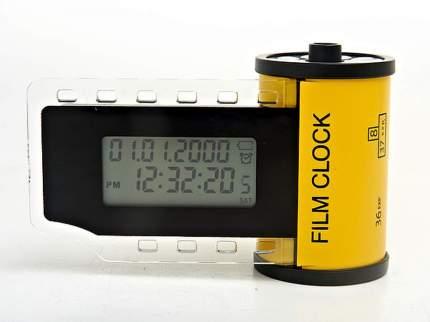 Часы настольные ENS, Кинематограф, 8x13 см, с будильником