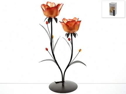 Подсвечник декоративный ENS, Розовый аромат, 23x15x41,5 см