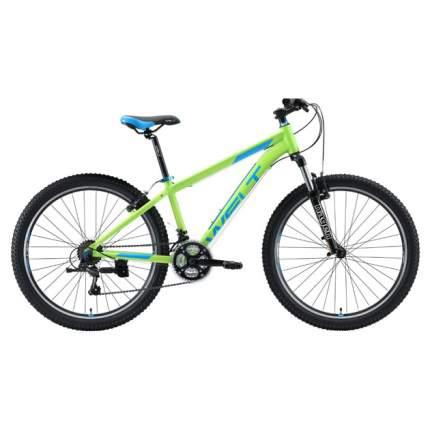 "Велосипед Welt Peak 26 V 2020 17"" matt green/blue"