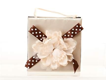 Упаковка для подарков ENS, Нежный пион, 18*8,5*18 см