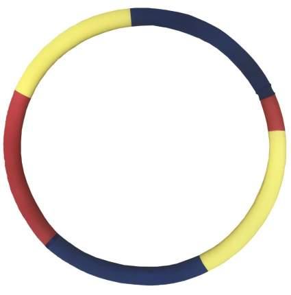 Массажный обруч Gymflex ST 0111 85 см желтый/красный/синий