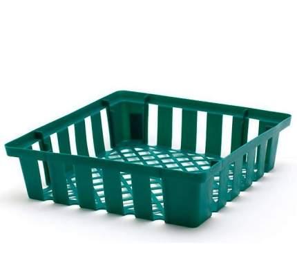 Корзинки для посадки луковичных квадратные,  5 шт. цвет в ассортименте