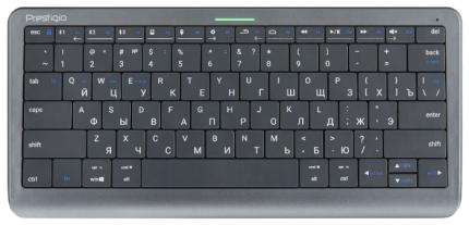 Клавиатура Prestigio Click&Touch Black