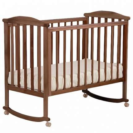 Кровать детская Кубаньлесстрой Лютик АБ 15.0, без ящика, цвет орех светлый