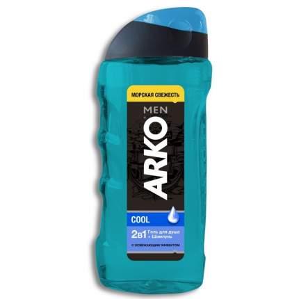 Гель-шампунь Arko Men Cool 2в1 Глубокое очищение 260 мл