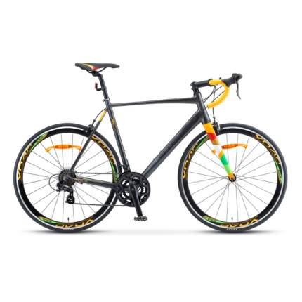 "Шоссейный велосипед Stels XT 280 V010 (2020) размер рамы 23"" Серо-желтый"