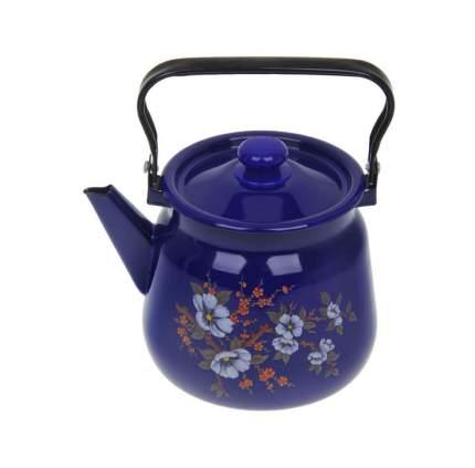Чайник Сибирские товары, 2,3 л, кобальтовый