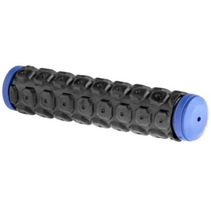 Грипсы VLG-184D2 130мм чёрно-синие/150006