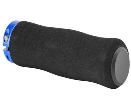 Грипсы XH-GN01BL,130 mm, Черный-синий/150245