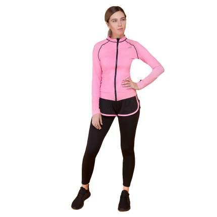 Леггинсы Atlanterra AT-LEG5-02, черные с розовым, M