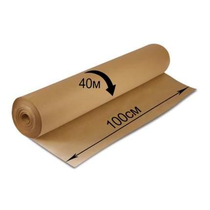 Крафт-бумага в рулоне BRAUBERG 100 см *40 м