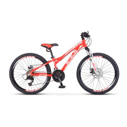 Подростковый велосипед Stels Navigator 460 MD K010 (2020) размер колеса 24 Красный