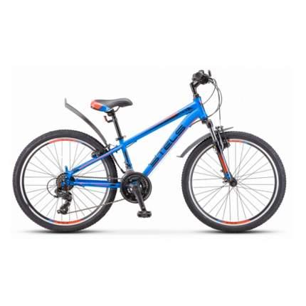 """Велосипед Stels Navigator 400 V F010 2020 12"""" синий/красный"""