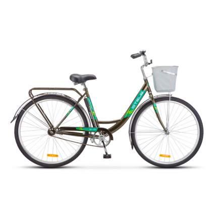 """Комфортный велосипед Stels Navigator 345 Z010 (2018) размер рамы 20"""" Коричневый"""