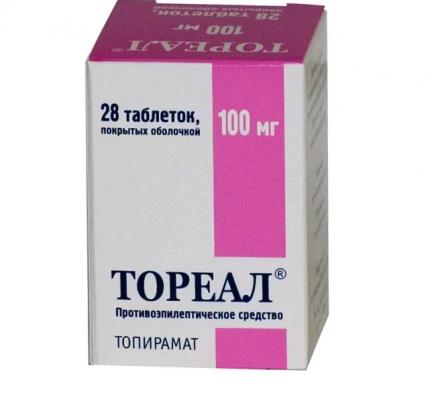 Тореал таблетки п.п.о. 25 мг 28 шт.
