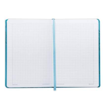 """Бизнес-блокнот """"Orient"""", А5, 128 листов, клетка, бирюзовый"""