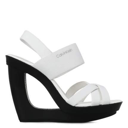 Босоножки женские Calvin Klein YOLANDA белые 38 EU