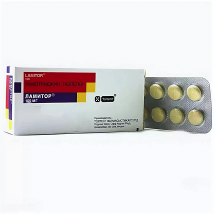 Ламитор таблетки 100 мг 50 шт.