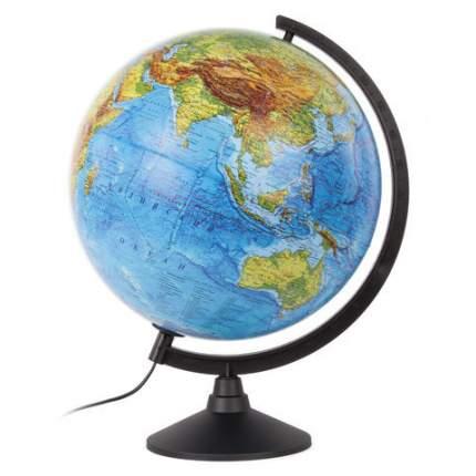 Глобус Земли, физический, с подсветкой, 320 мм