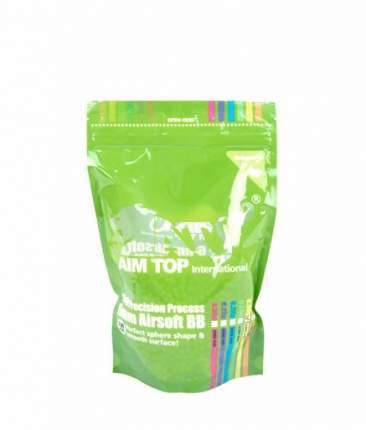Шары AimTop 0.30гр. биоразлагаемые, зелёные трассирующие 3300шт. белые (BO-30G33)